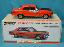 1:18 Classic Carlectilbes Ford XW Falcon GT-HO Phase II - Brambles Red