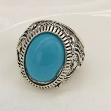 Vintage jewelry 316L Stainless Steel Vogue Design Mini Stone Ring USA Size 11 E0