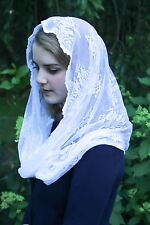 Evintage Veils~ Our Lady of Perpetual Help Chapel Veil Mantilla Veil