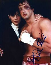 Talia Shire signed Sylvester Stallone' Rocky  8x10 Photo - Video Proof