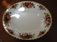 "Royal Albert OLD COUNTRY ROSES 15 1/8""  LARGE  Serving Platter"