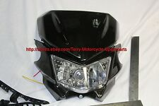 Motorcycle Headlight with Cowling set D-Tracker Type Enduro MotoCross #7041
