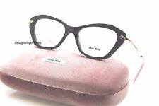 Miu Miu VMU 04L DHO-1O1 Brown & Gold RX Eyeglasses 52MM AUTH NWC