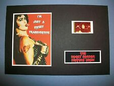 ROCKY HORROR PICTURE SHOW Movie Film Cell Memorabilia compliments poster dvdTRAN