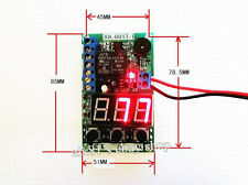 DC12V Multifunction Relay Relai PLC Cycle Timing Delay Verzögerung Switch Module