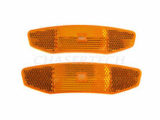 New MTB Road BMX Bicycle Bike Wheel Spoke Reflectors Amber Orange 1 Pair