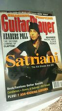 Guitar Player magazine JANUARY 1996 JOE SATRIANI free usa shipPING