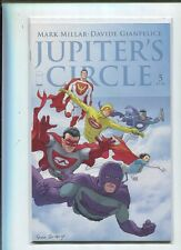 Jupiter's Circle #5  Millar Torres   Mint Unread  MD4