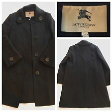Burberry Coat Cashmere Wool Blend Lightweight Coat Size UK 6 | BURBERRY LONDON