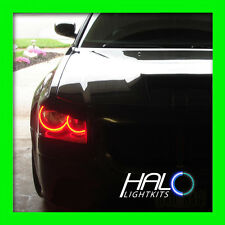 2005-2007 ORACLE DODGE MAGNUM AMBER LED LIGHT HEADLIGHT HALO KIT (4 RINGS)