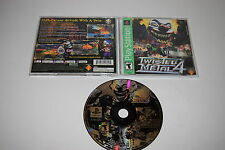 +++ TWISTED METAL 4 Sony Playstation 1 PS1 GAME COMPLETE TESTED +++
