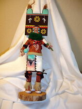 "VINTAGE SIGNED SIO HEMIS KACHINA HOPI - 16"" TALL - EXCELLENT CLEAN"