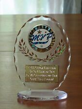 """MVP Sports (Most Valuable Player) 6 1/2"""" Acrylic Award Trophy FREE engraving"""
