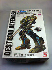 BANDAI Macross 1/72 Destroid Defender ADR-04-MK X Scale Plastic Model Hobbies