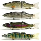 "7.5"" Multi Jointed Fishing Lure Bait Swimbait Life-Like Pike Muskie Killer NEW"