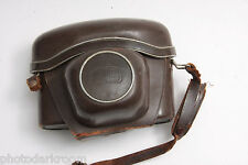 Zeiss Ikon Camera Case 23.0007 Fitted Approx. 3.75D x 5.5W x 4.5H VINTAGE J15D