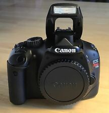 Canon EOS Rebel T2i / 550D 18 MP Digital SLR Camera - Black (Body Only)