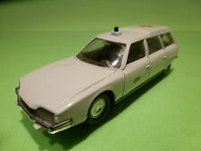 SOLIDO 65 CITROEN XM 2400 BREAK - AMBULANCE - 1:43 - RARE SELTEN - GOOD COND.