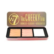 W7 The Cheeky Trio Bronzer/ Blusher/ Highlighter Palette