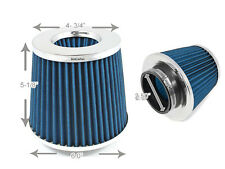 "2.5 Inches 63 mm Cold Air Intake Cone Filter 2.5"" NEW BLUE Dodge"