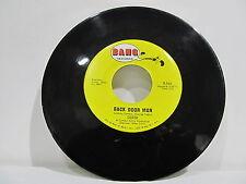 """45 RECORD 7"""" SINGLE - DEREK- BACK DOOR MAN"""