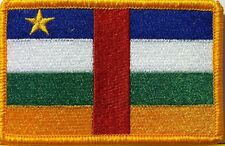 CENTRAL AFRICAN REPUBLIC Flag  Iron-On Patch Military Shoulder Emblem
