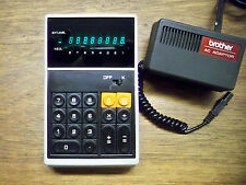 BROTHER PRO-CAL 408 RARE VINTAGE CALCULATOR WORKS PERFECTLY!