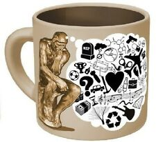 The Thinker Disappearing Thoughts Mug Brand New In Box
