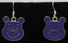 Purple Winnie the Pooh Earrings..