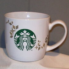 Starbucks 2013 MERMAID LOGO Holiday Ceramic Porcelain 14 fl oz Coffee Mug Cup
