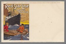 [55149] OLD CASSIERS POSTCARD RED STAR LINE C-1