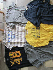NEW LOT/6 AMERICAN EAGLE SHIRT SHIRTS MENS XS MIXED LOT GRAPHIC TS FREE SHIP