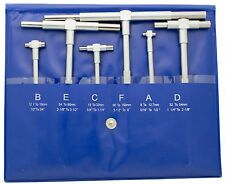 "Telescoping Gage Set 5/16"" to 6"" Range Includes 6 Gages Chicago Brand #50215"