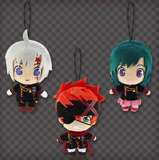 D.gray-man Hallow Plush Doll x3 Allen Walker Lavi Lenalee Lee 16cm Anime F/S