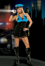 Dreamgirl Women's Detective Terri Gation Sexy Cop Police Adult Costume Large