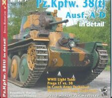 Pz.Kpfw.38(t) Ausf.A-D Tank in Detail N0.38 WW2 tanks German Military Army