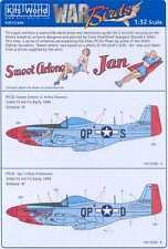 Kits World Decals 1/32 P-51D MUSTANG Fighter 4th FG Sweet Arlene & Jan