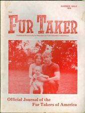 1974 The Fur Taker Magazine: Journal of Fur Takers of America Summer Issue