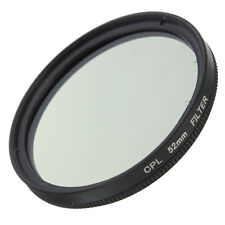 Slim 52mm CPL Circular Polarizing Filter PL-CIR For Canon Nikon 52mm Lens