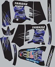 1993-1995 Yamaha YZ125 YZ 125 Graphics Decal fender shrouds Stickers