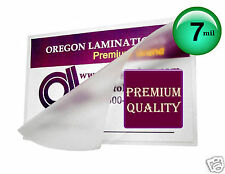 7 Mil Small Index Card Hot Laminating Pouches 3 x 5 (100) Clear 3x5 by OregonLam