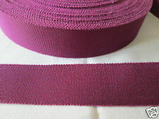25mm GROSGRAIN / PETERSHAM RIBBON various colours and lengths