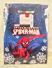 """SPIDER-MAN SPIDER SENSE SET OF 2 HOLIDAY GABLE STYLE 10"""" X 10"""" GIFT BOXES"""