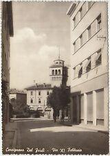 CERVIGNANO DEL FRIULI - VIA XI FEBBRAIO (UDINE) 1962