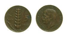pcc1578_24) Vittorio Emanuele III (1900-1943) 5 cent Spiga 1919 NC