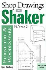 Shop Drawings of Shaker Furniture & Woodenware, Volume 2 (Vol.2), Handberg, Ejne