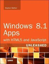 Windows 8. 1 Apps with HTML5 and JavaScript Unleashed by Stephen Walther...