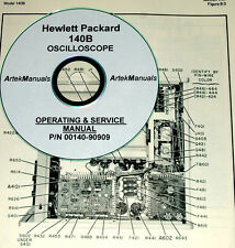 HP 140B OSCILLOSCOPE SERVICE & OPERATING  MANUAL