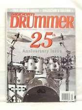 MODERN DRUMMER MAGAZINE 25TH ANNIVERSARY ISSUE COLLECTOR EDITION VERY RARE 2001