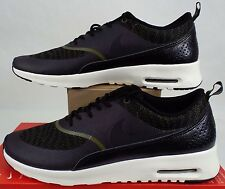 """New Womens 11 NIKE """"Air Max Thea KJCRD"""" Faded Olive Black Shoes $110 718646-300"""